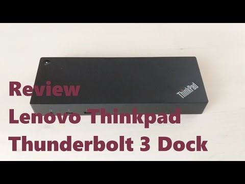 Lenovo Thinkpad Thunderbolt 3 Dock