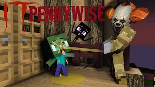 IT Pennywise Monster school Minecraft Animation