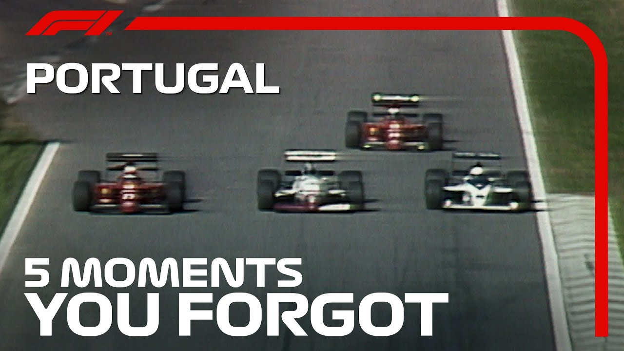 5 Moments You Forgot   Portuguese Grand Prix
