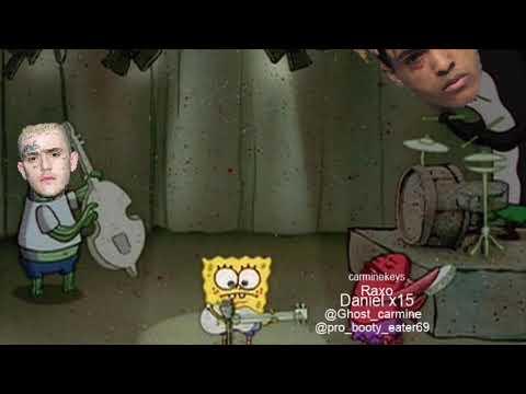 SpongeBob ripped pants Falling down remix full song