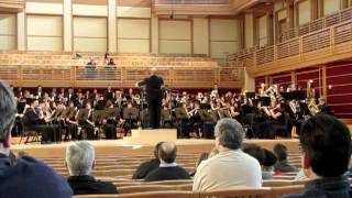 Time Streams, DHS Concert band, at Sonoma State 2013