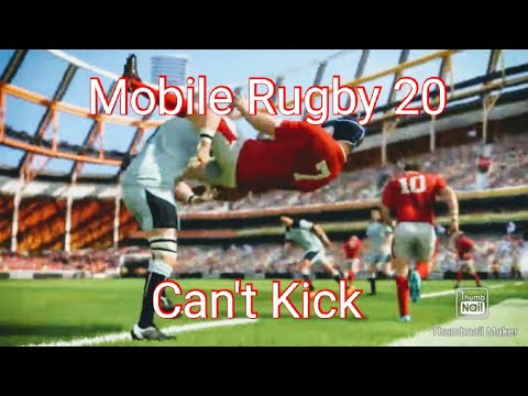 Rugby 20 Mobile but I don't lose |