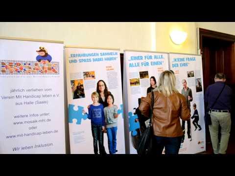 Ehrenamt inklusive – Ausstellung zum Protesttag der Menschen mit Behinderung (barrierefreie Version)