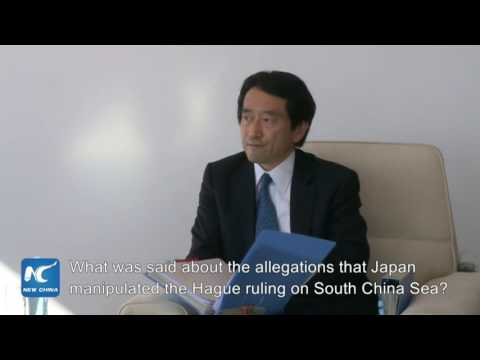 Japan official uneasy with South China Sea questions