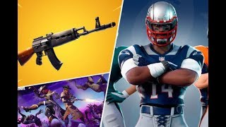 🔴FOOTBALL NFL FORTNITE SKINS ITEM SHOP COUNTDOWN *NEW* LIVE RARE SKIN GAMEPLAY!