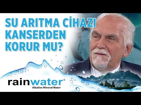Kanserin Çaresi Alkali Su Olabilir mi? - Rainwater Su Arıtma Sistemleri