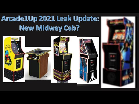 Arcade1up CES 2021 Update: New MK2 Midway Legacy Addition Spotted from ConStorm Entertainment