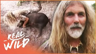 Man Gets Attacked By Dangerous Wild Boar | Savage Wild | Real Wild