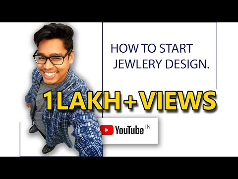 How to start with a jewelry design ..in Hindi