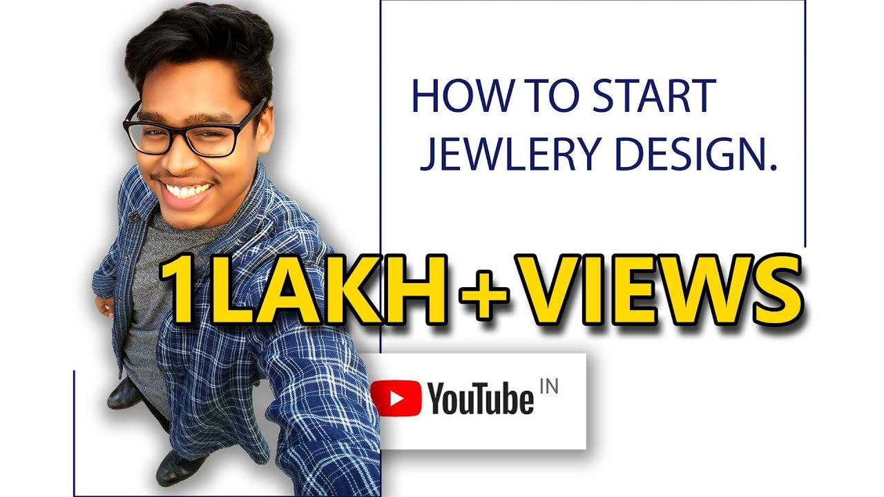 How to start with a jewelry design in Hindi YouTube