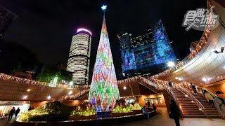 新北歡樂耶誕城,亮燈+3D雷射投影搶先看!