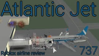 Roblox Airline Review: AtlanticJet