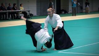 Janet Clift - Demonstration - 12th International Aikido Federation Congress (2016)