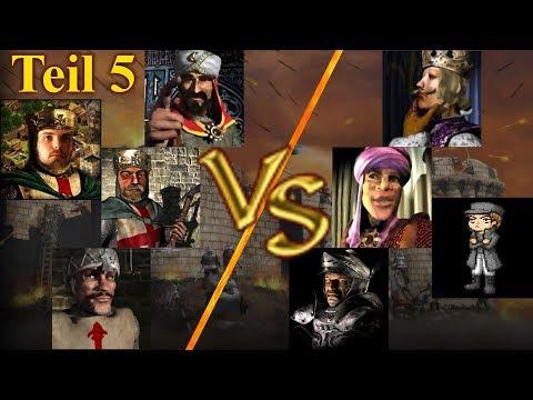 KI Kommando - Runde 1 - Teil 5 | Stronghold Crusader KI Kämpfe