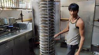 India's Biggest Khaman Making | Mega Kitchen of Surat | Indian Street Food