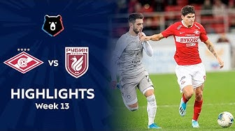 Highlights Spartak vs Rubin (0-0)