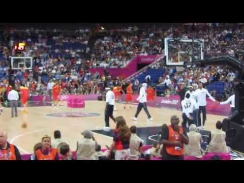 USA - Spain Basketball Olympics Final 2012