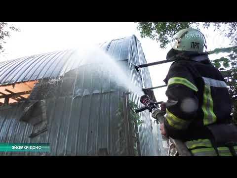 Телеканал Новий Чернігів: Пожежа на СТО в Чернігові| Телеканал Новий Чернігів