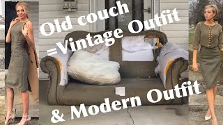 TURNING A COUCH INTO FASHION!