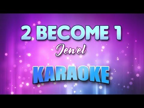 Jewel - 2 Become 1 (Karaoke & Lyrics)