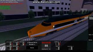 ROBLOX Rails Unlimited train blooper (SmashedCaboose is not here)