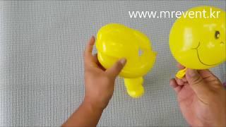 요술풍선 인형 만들기