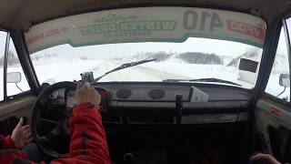 ВАЗ 2101 Дрифт на боевой Жиге зимой по Аэродрому, Табуретка Валит