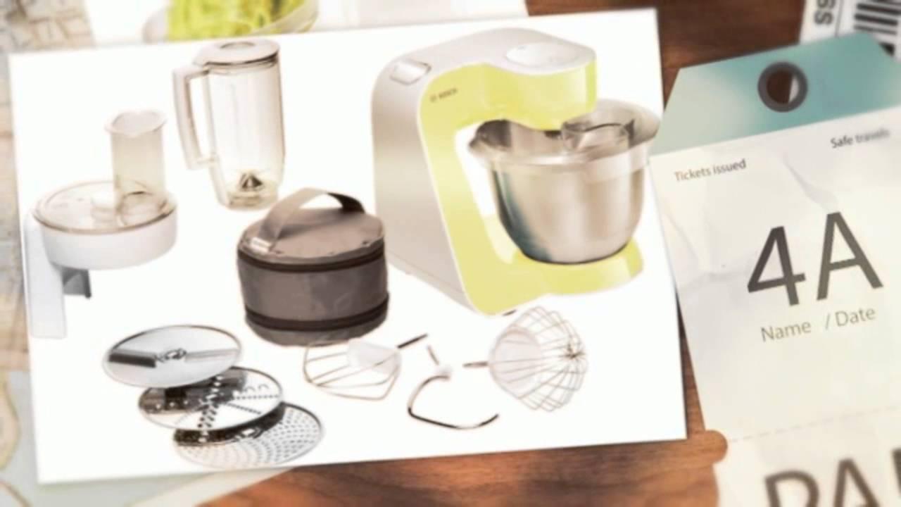 Dieci Migliori Robot da cucina Bosch multifunzione - YouTube