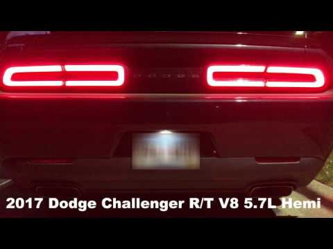 Car Rental: 2017 Dodge Challenger R/T:Exhaust and 0-60 times