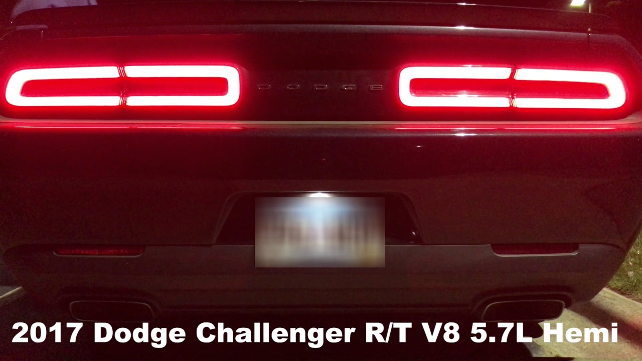 All Types challenger rt 0 60 : Car Rental: 2017 Dodge Challenger R/T:Exhaust and 0-60 times - YouTube
