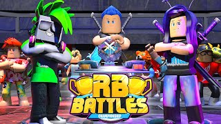 Introducing The RB Battles Championship For 1 MILLION Robux! (Roblox Battles)