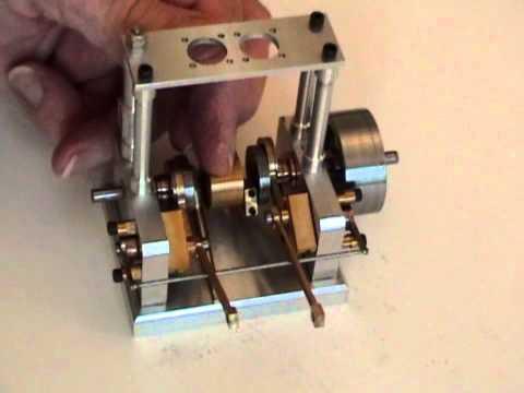 My New Twin Cylinder Slide Valve Steam Engine - Bottom Half!