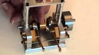 My New Twin Cylinder Slide Valve Steam Engine - Bottom Half!
