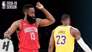 Houston Rockets vs Los Angeles Lakers - Full Highlights | February 21, 2019 | 2018-19 NBA Season