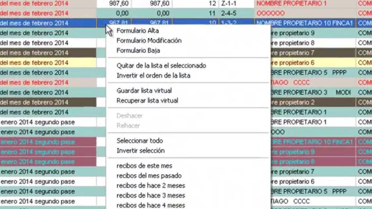 Plantilla Libro Cuentas Excel Comunidad Vecinos – Zooz1 Plantillas