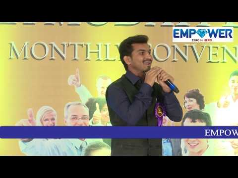 Empower Zero to Hero-How to Earn More Money in Short Time-An emotional speech by Mr.Raju Naik