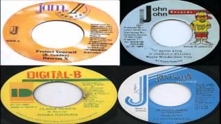 Peanie Peanie riddim mix FULL 1989- 2003 [Jammys,Bobby Digital,John John,Jam 2] mix by djeasy