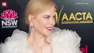 Nicole Kidman is angelic in white at AACTA International Awards