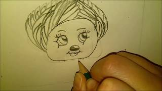 MY FIRST VIDEO!! Drawing a Shnook