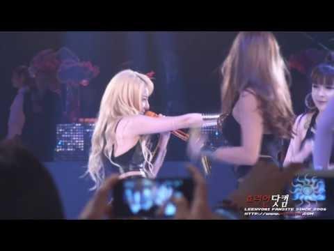 [130718] 2NE1 Falling in Love SandaraPark (Fancam)