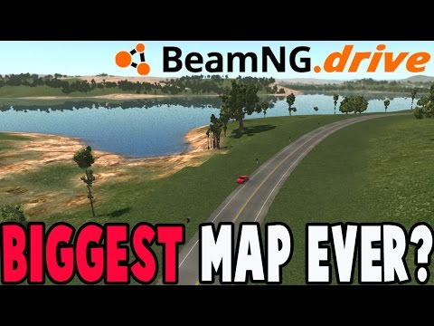 BeamNG Drive - BIGGEST MAP MOD EVER? - Tennessee Roane Count