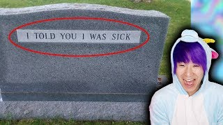 The Funniest Tombstones!