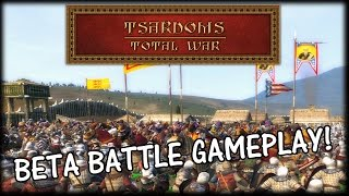 TSARDOMS TOTAL WAR - Beta Battle Siege Gameplay