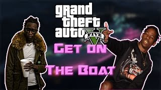 "Young Thug & Travis Scott Pick Up The Phone ft. Quavo PARODY! ""Get on the Boat"" GTA V Song"