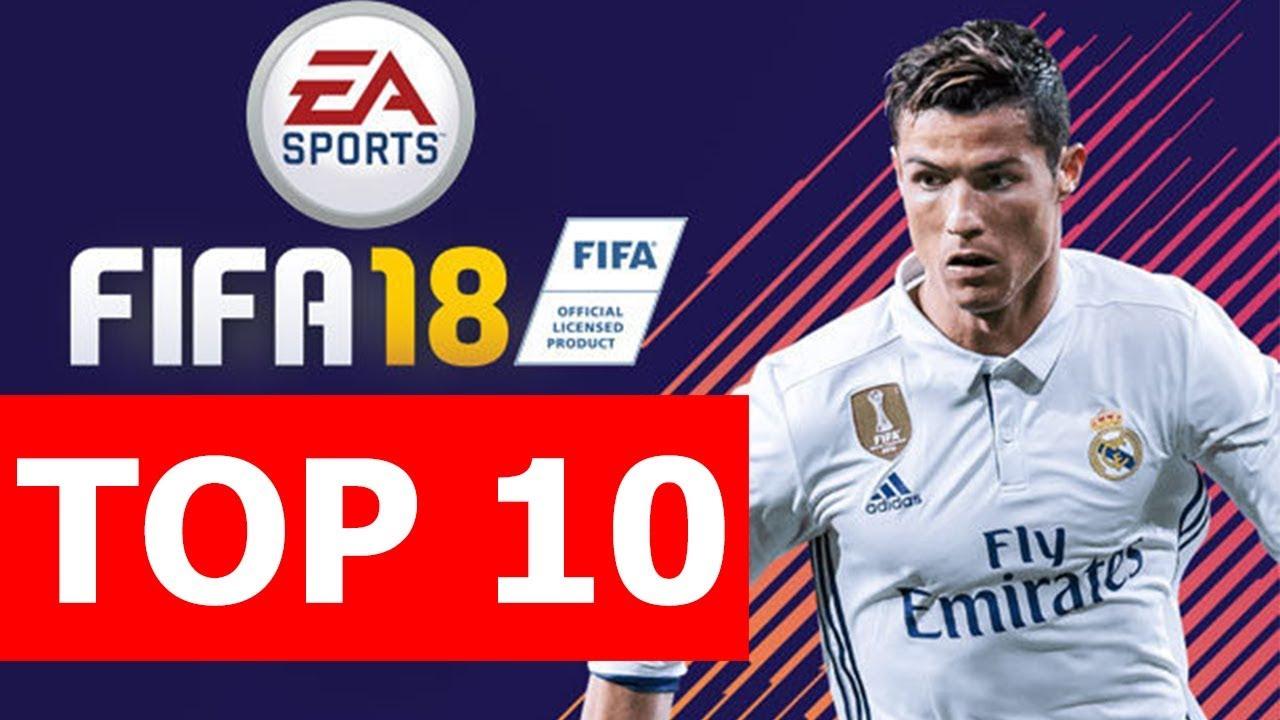 Top 10 điều thú vị về FIFA 18