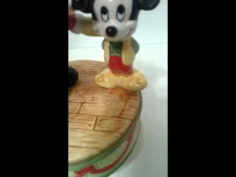 Schmid Mickey Mouse Music Box