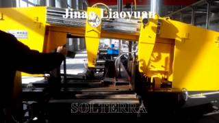 Solterra Jinan Liaoyuan Rotation Angle Band Saw Beam cutting Machine