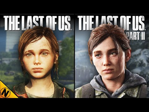The Last Of Us Part II Vs Original [Remastered] | Direct Comparison