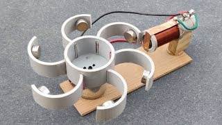 Free Energy Generator using Neodymium Magnet Activity