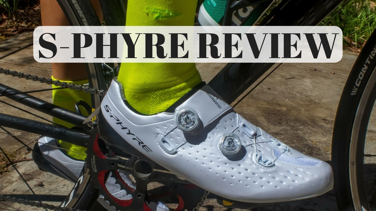 Shimano S phyre Road Shoes Review